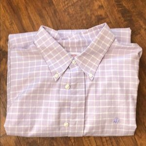 Brooks Brothers Non-iron Windowpane sport shirt